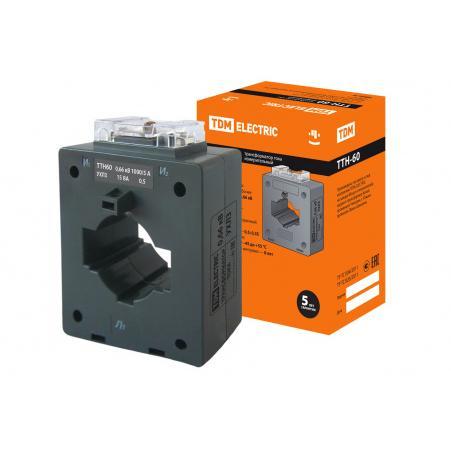 Трансформатор тока измерительный ТТН 60/1000/5-15VA/0,5-Р TDM