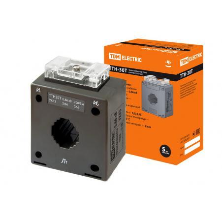 Трансформатор тока измерительный ТТН 30T/200/5- 5VA/0,5S TDM